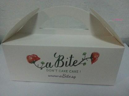 a Bite Cake's Takeaway Box