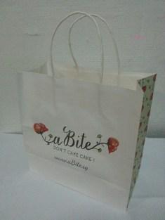 a Bite Cake's Paper Bag