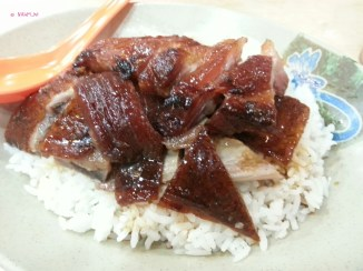 Roasted Goose and BBQ Pork Rice