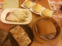 Our Breakfast at Tim Ho Wan, Sham Shui Po Outlet
