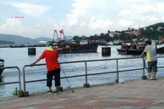 Fishing at Cheung Chau