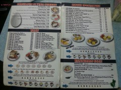 Combos, Eggs, Housed Specialty and Ranched Egg Menu