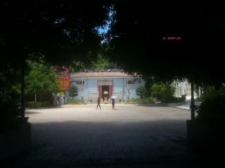 Glimpse of Tin Hau Temple