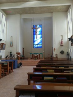 St Anne's Church Interior