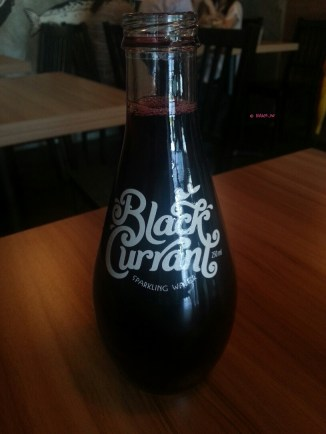 Blackcurrant Sparkling Organic Juices (Front)