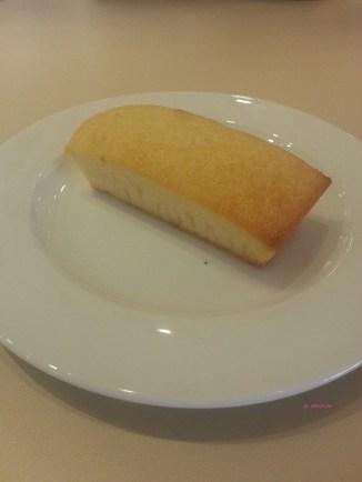 My Dine-in Order, Lemon Financier
