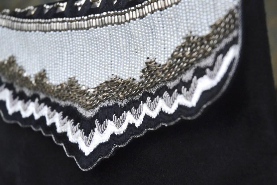 Pochette Mahes - Black/White   Photo 1