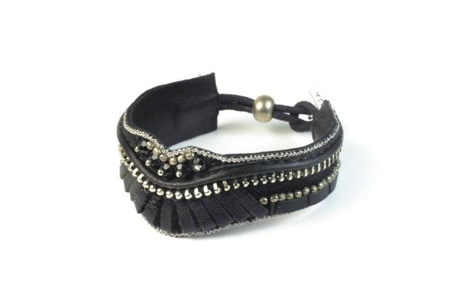 Bracelet rock Pacome | Black | Photo 2