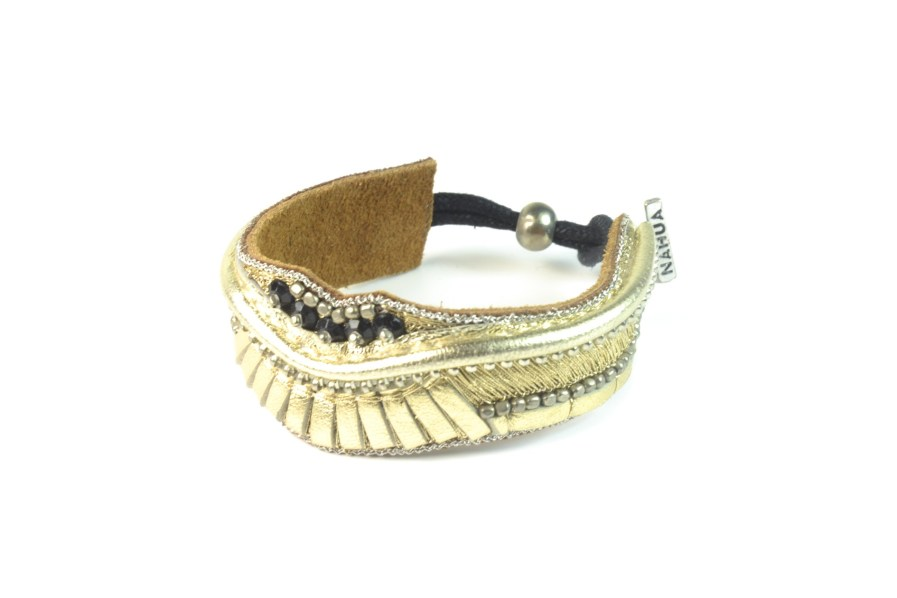 Bracelet rock Pacome | Gold | Photo 2