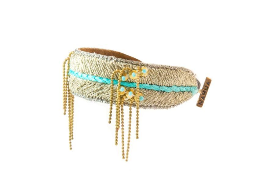 Bracelet chic Dita | Turquoise | Photo 2