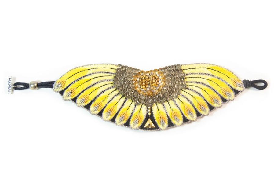 Bracelet ethnique Nikita | Yellow | Photo 3