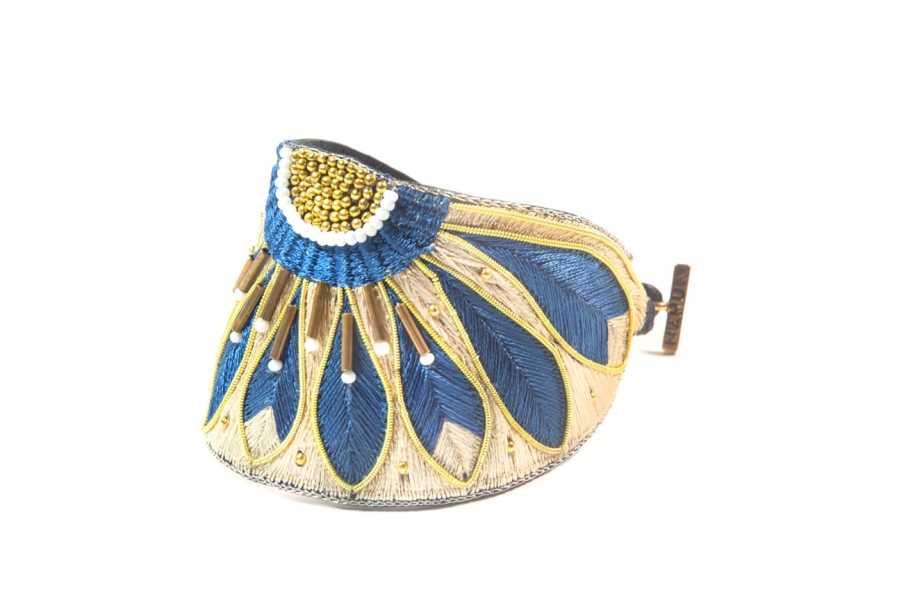 Bracelet ethnique Apache   Duck/Mastic   Photo 2