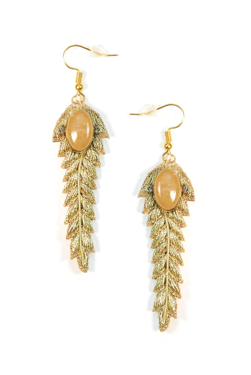 Boucles d'oreilles chic Lorie | Gold | Photo 2