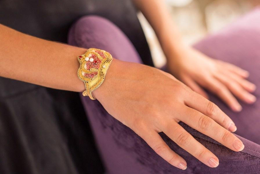Bracelet couronne Romane | Red | Photo 1
