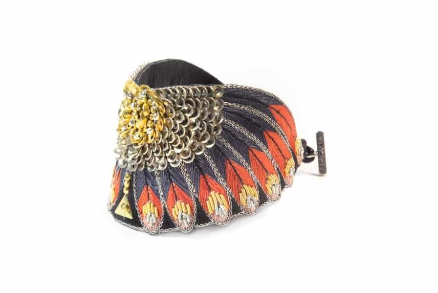 Bracelet ethnique Nikita | Coral | Photo 2