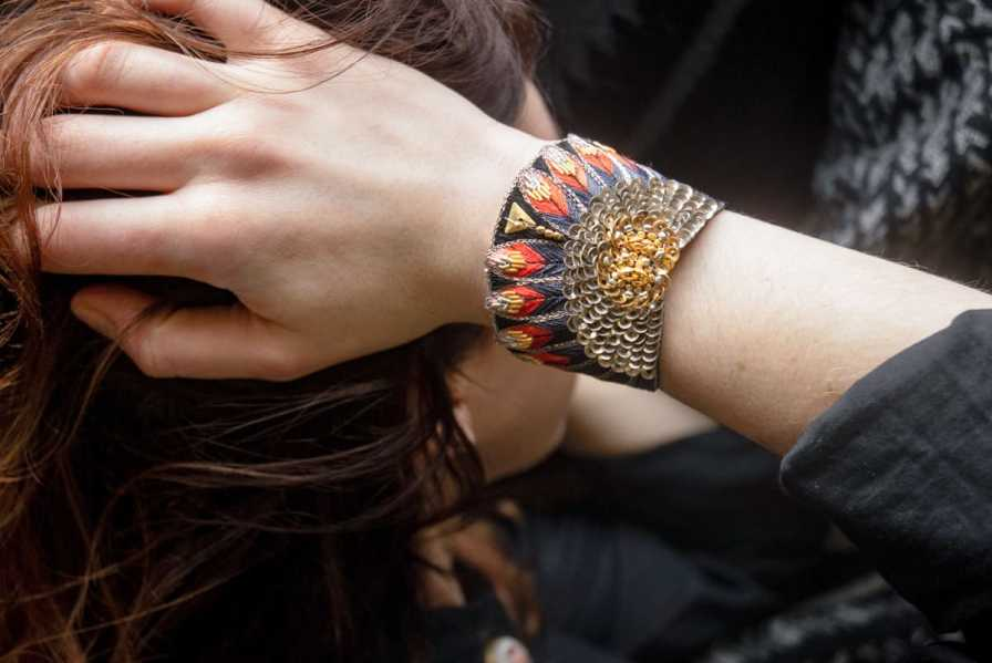 Bracelet ethnique Nikita | Coral | Photo 1