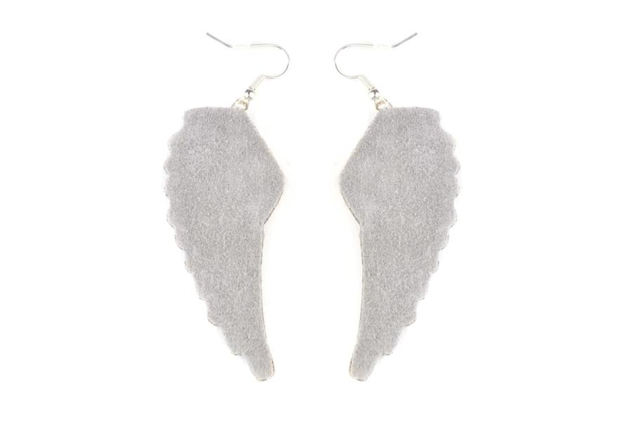 Boucles d'oreilles rock Anita | Silver | Photo 3