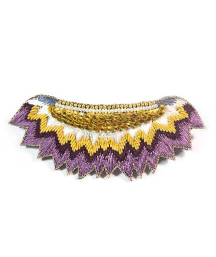 Barrette Macha Purple NAHUA
