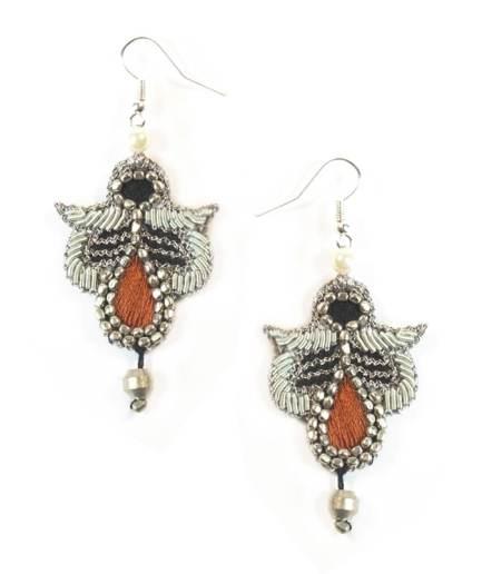 Boucles d'oreilles Opale Copper NAHUA