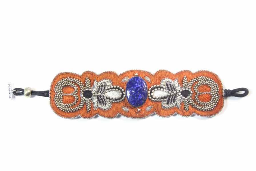 Bracelet chic Opera | Blue/Copper | Photo 3