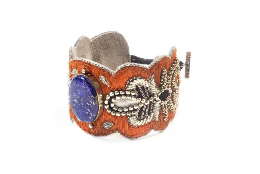 Bracelet chic Opera | Blue/Copper | Photo 2