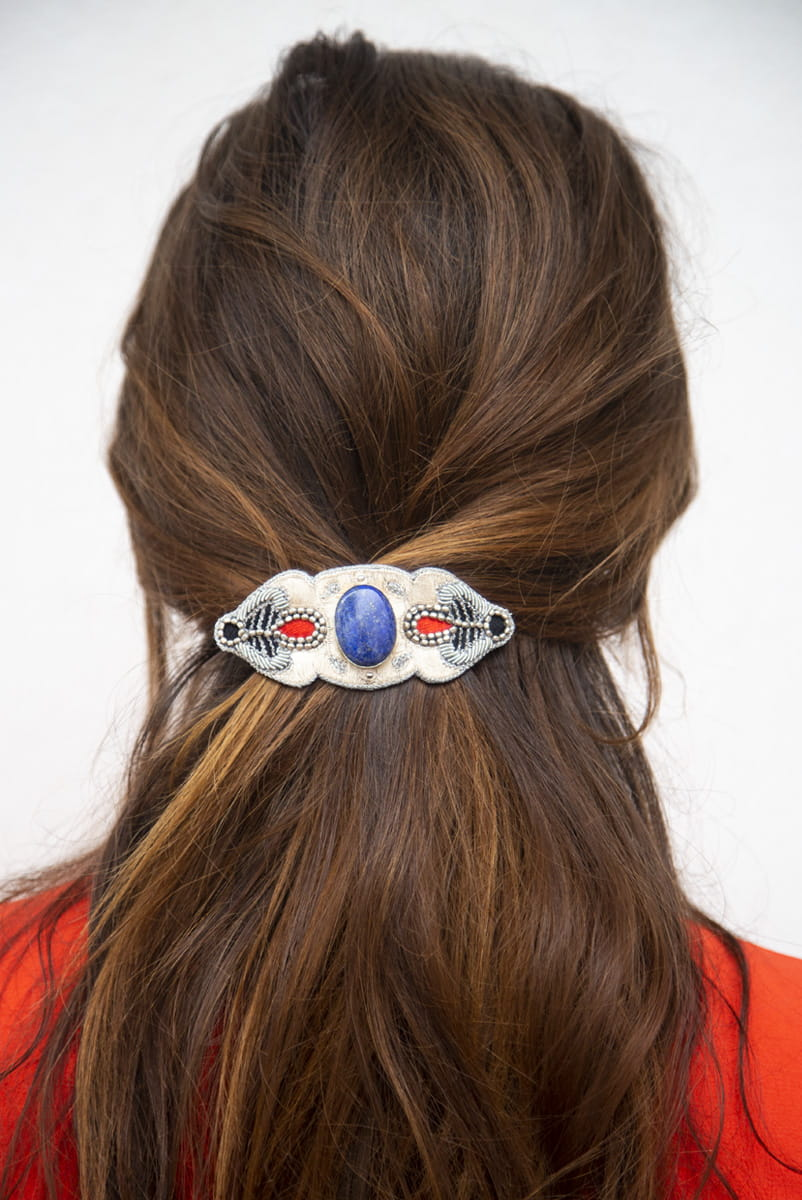 Barrette chic Opheline | Blue/Mastic | Photo 1