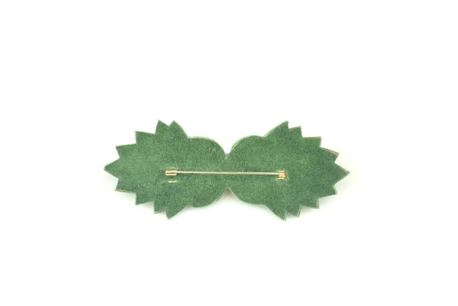 Malika brooch | Prairie | Photo 3