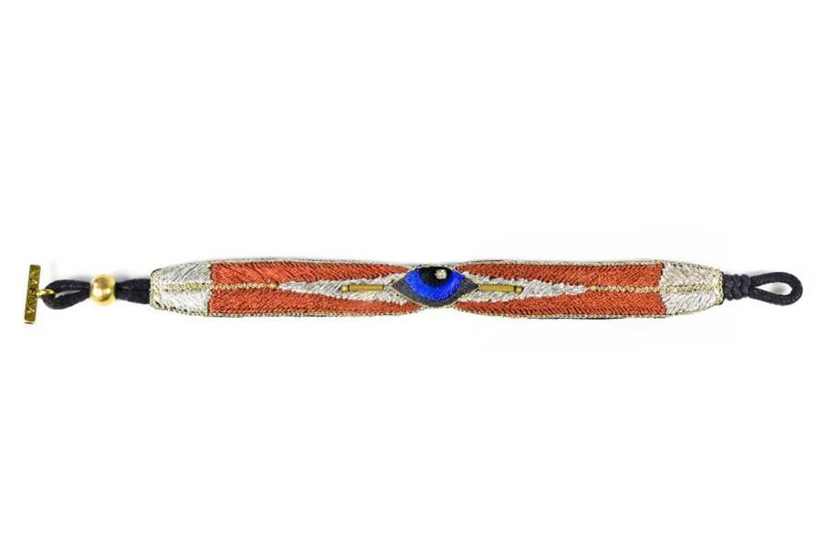 Bracelet bohème Horis | Copper | Photo 3