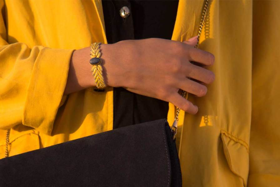 Bracelet chic Loriane   Yellow   Photo 1