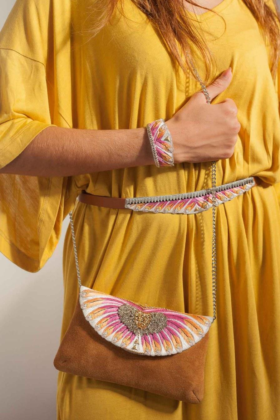 Bracelet ethnique Niall | Lilac | Photo 1