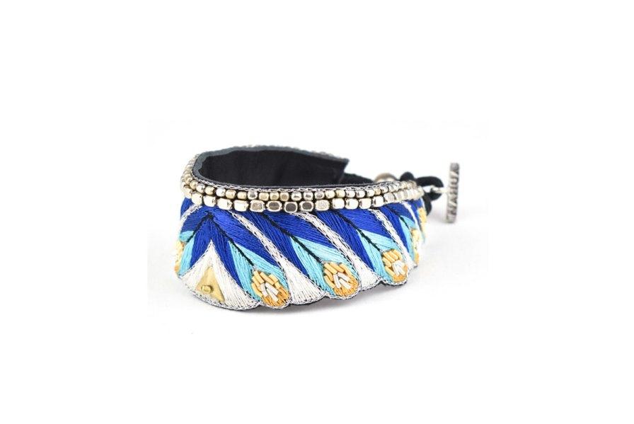 Bracelet ethnique Niall | Greek blue | Photo 2