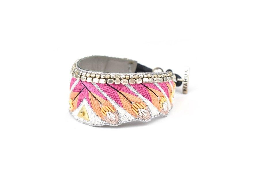 Bracelet ethnique Niall | Lilac | Photo 2