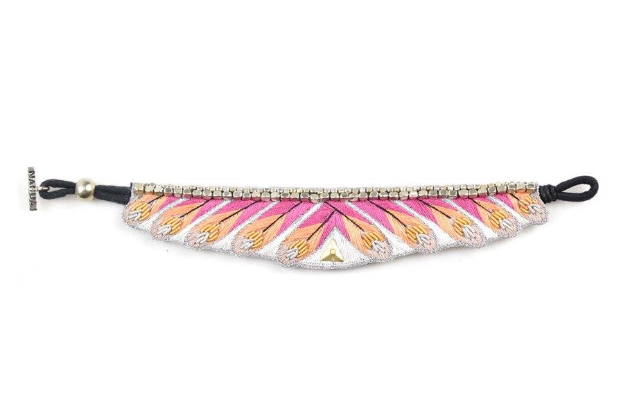 Bracelet ethnique Niall | Lilac | Photo 3