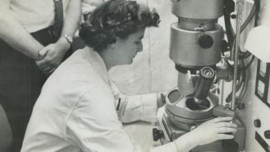 Photo of The woman who discovered the first coronavirus