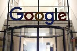 The Google logo adrons the entrance of Google Germany headquarters in Hamburg, Germany July 11, 2016.  REUTERS/Morris Mac Matzen