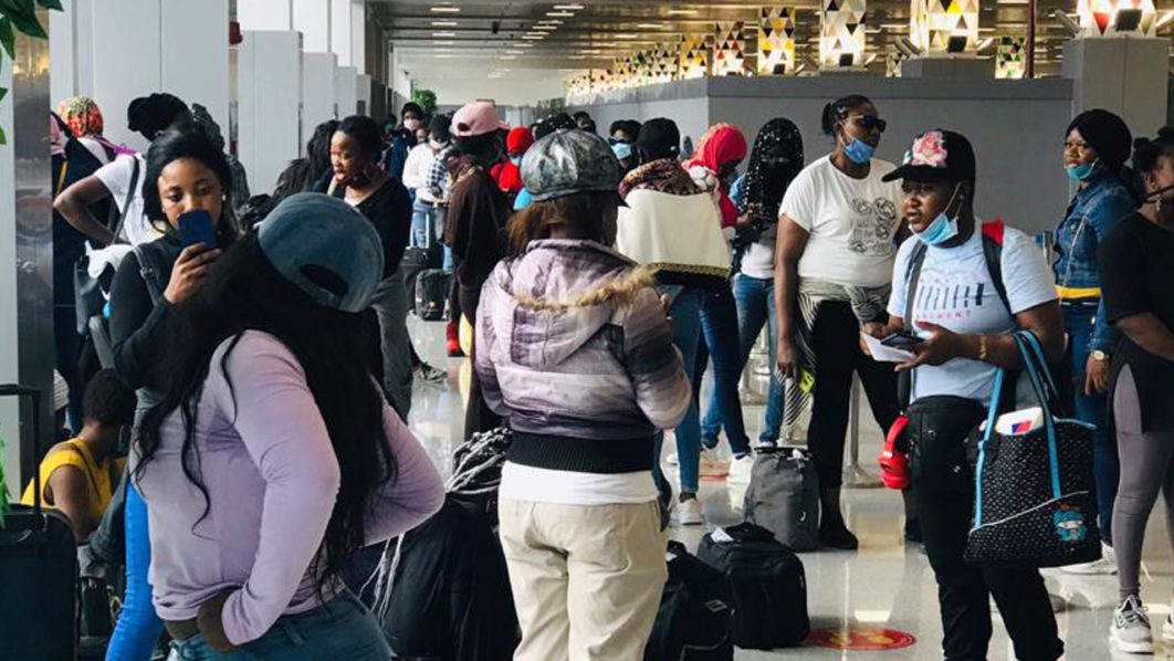 Another Set of Nigerians Trafficked to Lebanon Arrive Abuja Tatahfonewsarena
