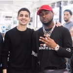 Davido Flaunts His New OBO Diamond Necklace Worth $100,000 (Photos, Video)