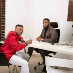 'You Rise By Lifting Others'- Praiz Says As He Signs Dapo From Project Fame As His First Artiste
