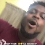 """""""You No Fit Arrest Him, Them No Born You"""" – Bred And Davido's Brother Tells Police (Video)"""