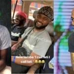 "Davido Finally Gives ""I call Lati, I call Lati"" Boy N1million He Promised Him (Video)"
