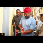 Desmond Elliot Commissions Public Toilet In Lagos (Photos)