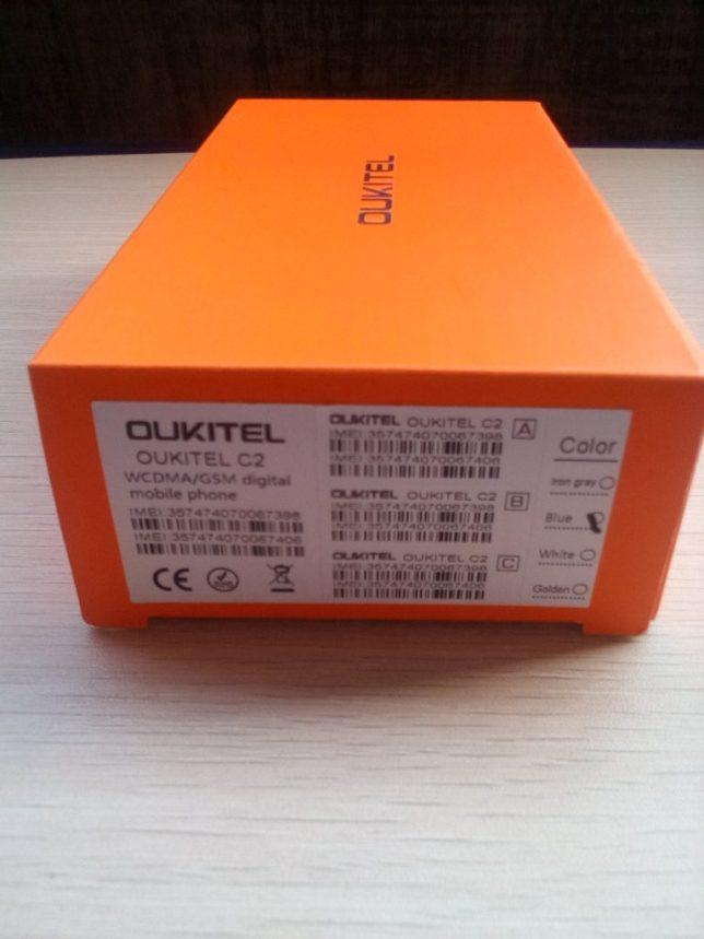 oukitel c2 box