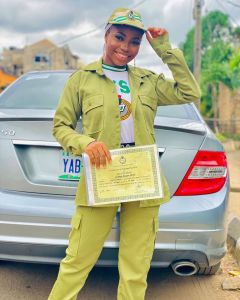 Taaooma completed her nysc