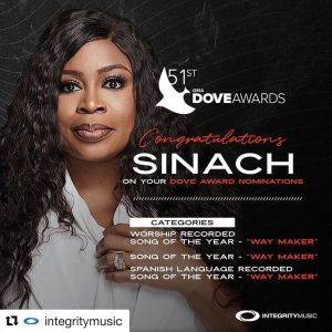 Sinach Biography