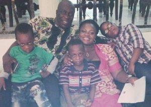Charles Awurum and family.