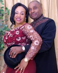Kenneth Okonkwo and wife.