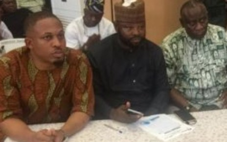 Rapper, Naeto C Spotted Serving As A Member Of The Kwara State PDP Gubernatorial Primaries Committee (Photo)