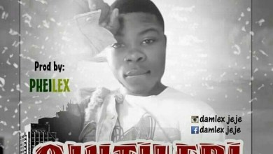 Photo of [Music] Damlex – ojutileri