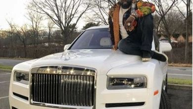 Photo of Too Much Money!! Rapper 50Cent Buys Himself $440k Rolls Royce For Christmas (Photos)
