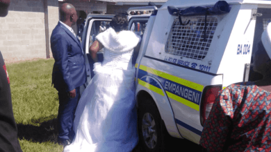 Photo of Couple, Pastor And Over 40 Guests Arrested In A Wedding Reception In SA (Photos)